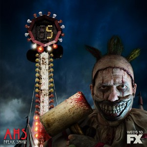 AHS Freak toon promotional picture