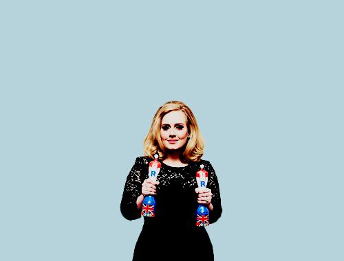 Adele Hintergrund entitled Adele