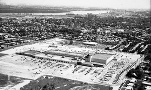 Aerial view of River Roads Mall