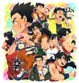 All Yamcha's Styles - dragon-ball fan art