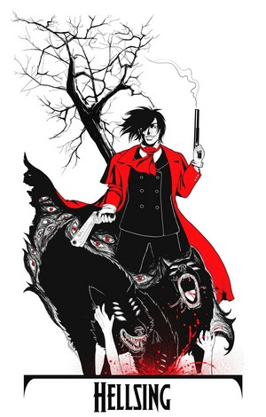 Alucard and Hellhounds