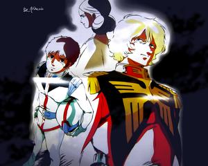 Amuro/Lalah/Char