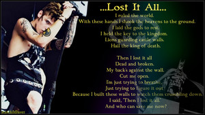 Andy Biersack....Lost it All