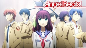 Angel Beats kertas dinding