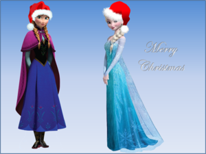 Anna Elsa Christmas