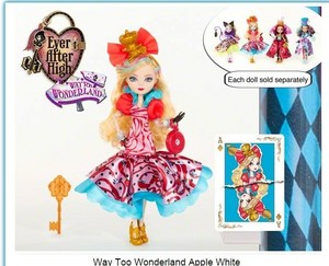 manzana, apple White Way too Wonderland 2015