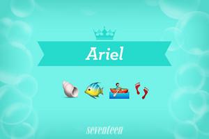 Ariel Emojis