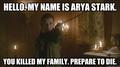 Arya Stark.