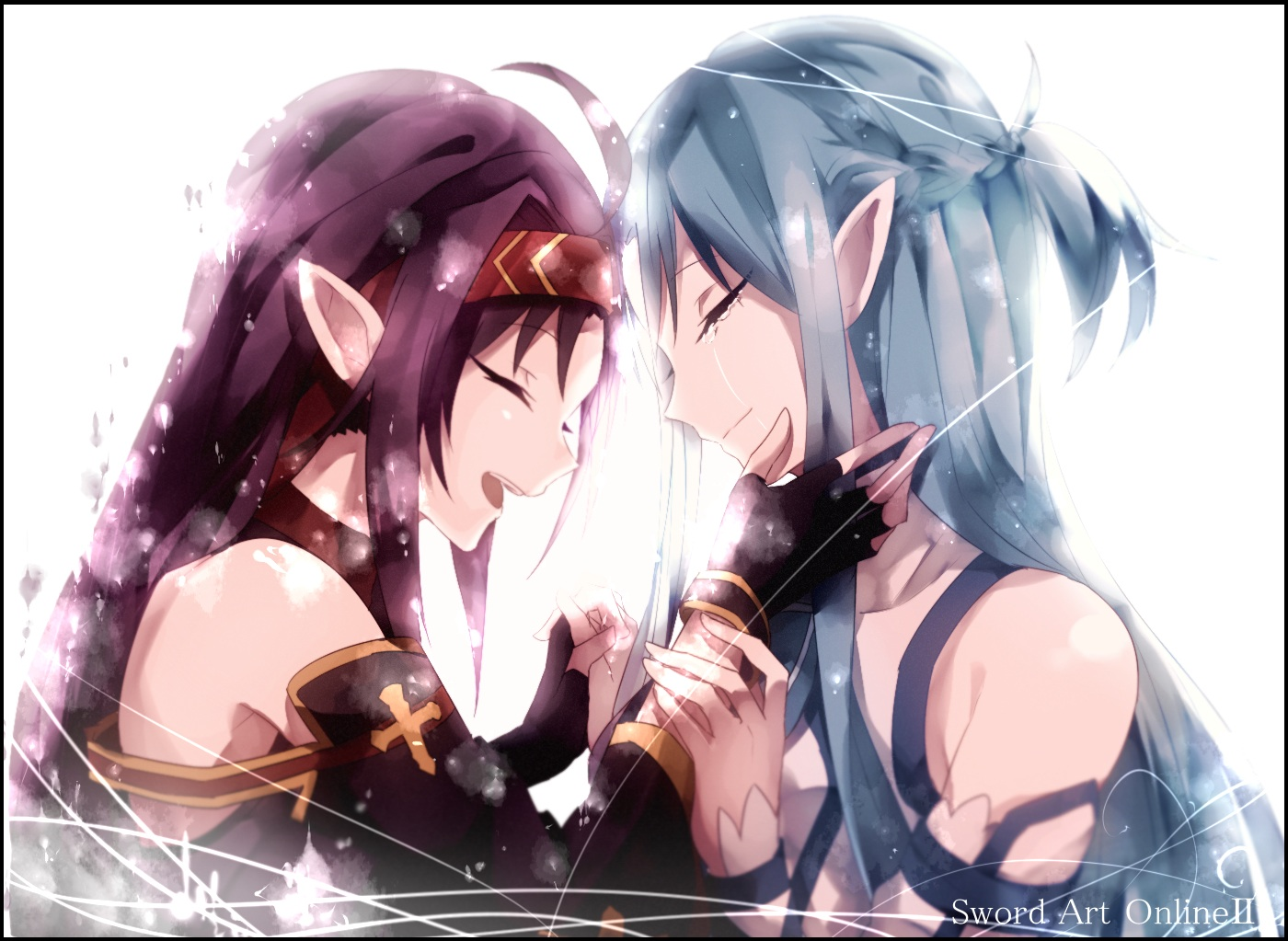 Asuna and Yuuki