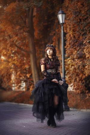 Autumn goth style
