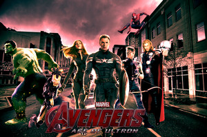 Avengers 2 Movie Poster (fan made)
