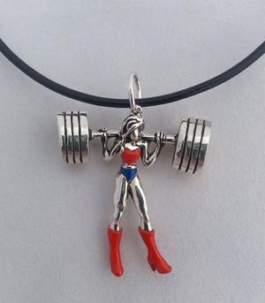 Awesome Wonder Woman chuỗi hạt, chuỗi hạt cườm