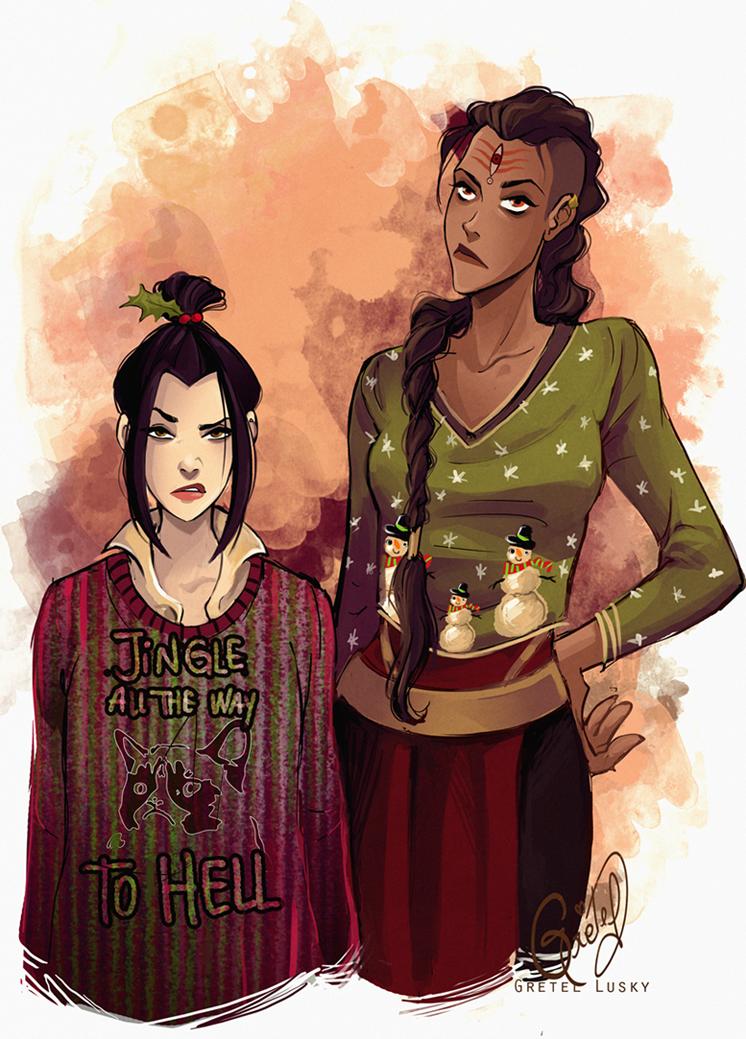 Azula and P'Li