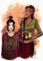 Azula and P'Li - avatar-the-last-airbender fan art