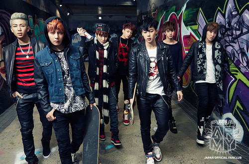 BTS (Bangtan Boys) پیپر وال containing a business suit entitled BTS - Skool Luv affair