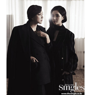 Bada and Seohyun - Singles Magazine January Issue '15