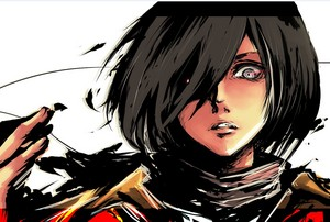 Badass Mikasa