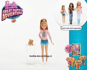 Barbie & Her Sisters in The Great Puppy Adventure Dolls!