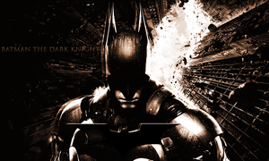 Batman The Dark Knight kertas dinding