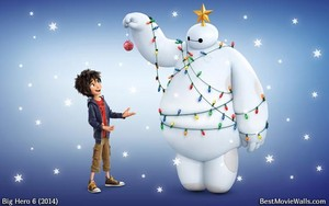 Baymax and Hiro for Weihnachten