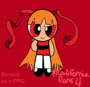 Berserk as a powerpuff girl.