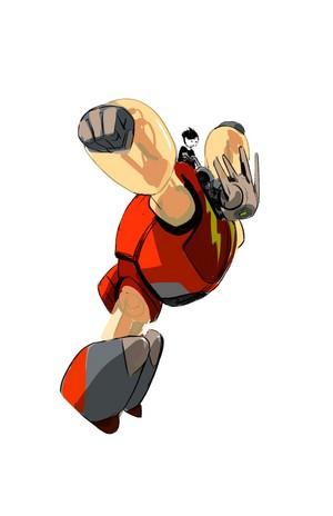 Big Hero 6 - Early Baymax Concept Art