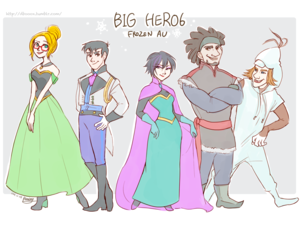 Big Hero 6 - Frozen