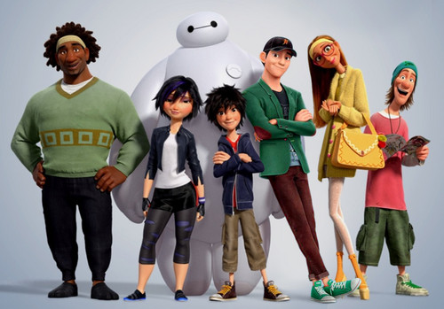 Big Hero 6 Hintergrund possibly with a pantleg, long trousers, and an outerwear called Big Hero 6