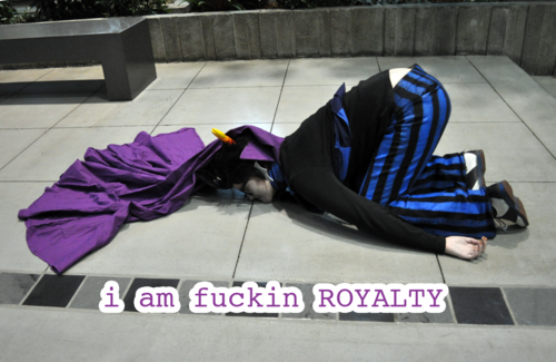 Eridan Ampora wallpaper called Bitch I'm ROYALTY!