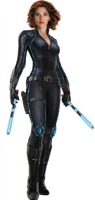 Black Widow New Costume Revealed The Avengers Age Of