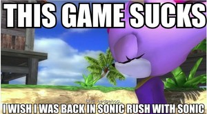 Blaze Opines on Sonic 2006