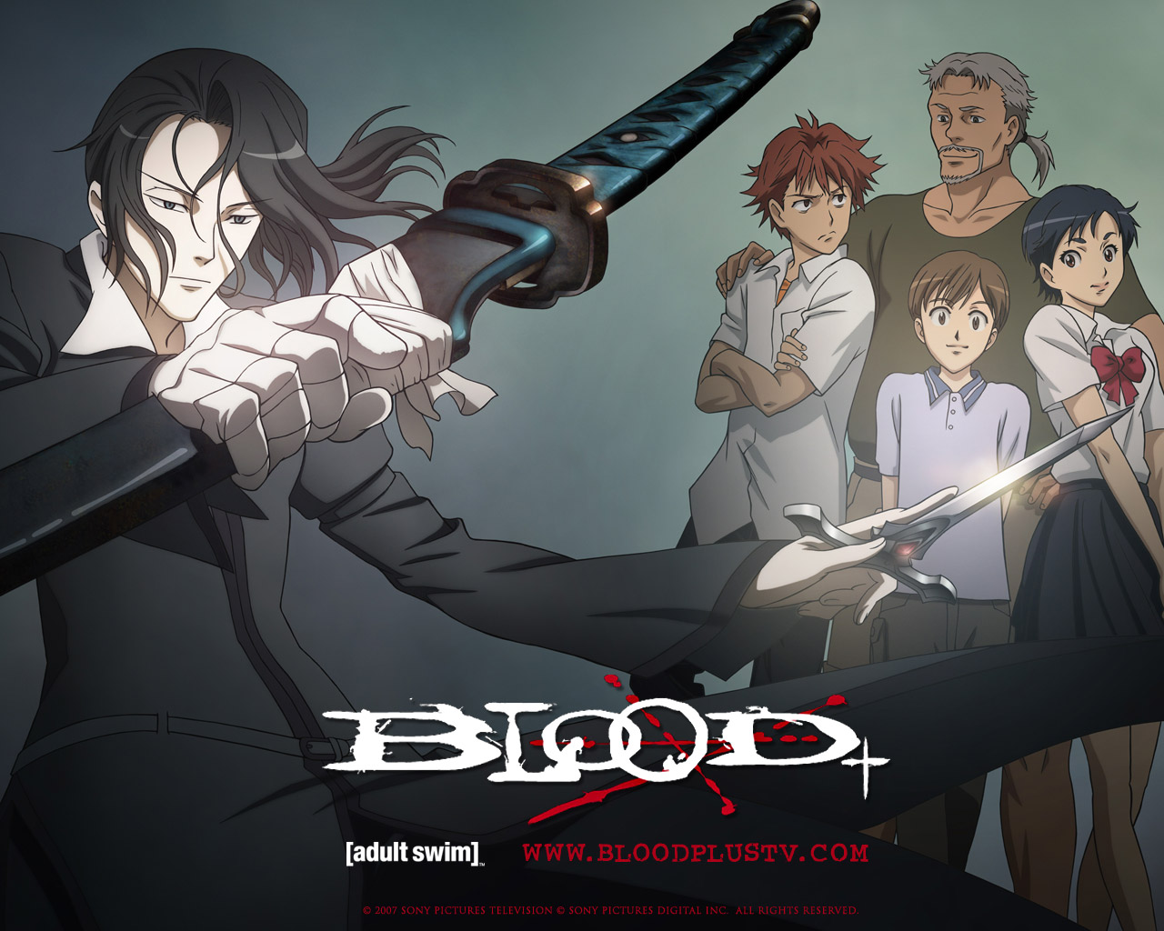 Blood The Anime