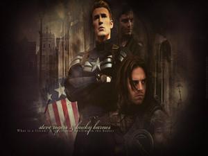 Bucky and Steve ☆