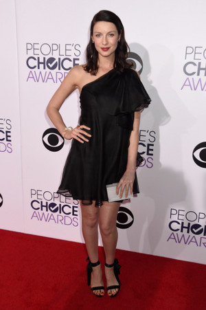 Caitriona Balfe at the 2015 People's Choice Awards