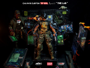 Calvin's Custom One Sixth Scale Toy Soul HK 2014 Special Lab Wolverine with Cyborgs