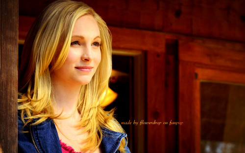 Caroline Forbes wallpaper possibly with a portrait called Caroline Forbes ღ