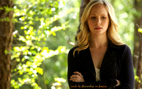 Caroline Forbes wallpaper with a portrait titled Caroline Forbes ღ