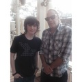 Chandler and Greg - chandler-riggs photo