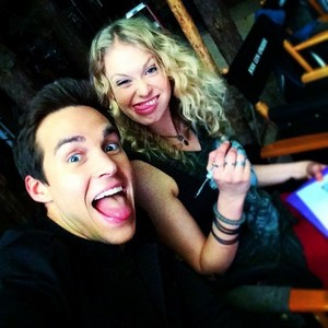 Chirs Wood and Penelope Mitchell