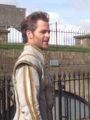 Chris Pine BTS (Into the Woods)