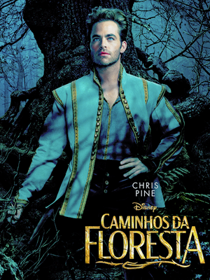 Chris Pine,Into the Woods poster