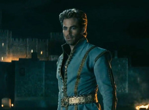 Chris Pine as the Prince,Into the Woods