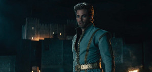 Chris Pine as the handsome Prince in Into the Woods
