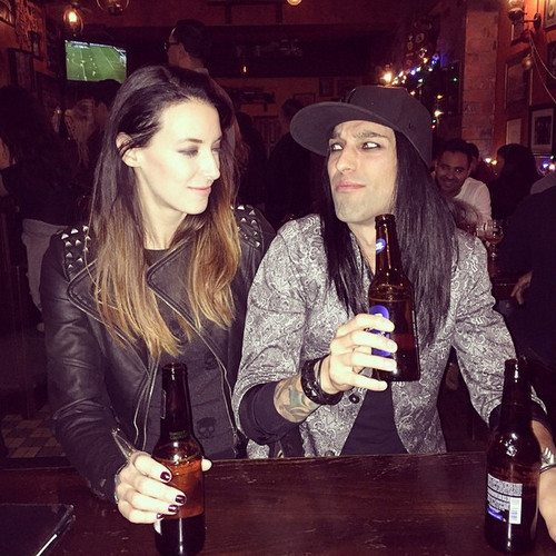 Black Veil Brides images Christian Coma and Liz HD ...