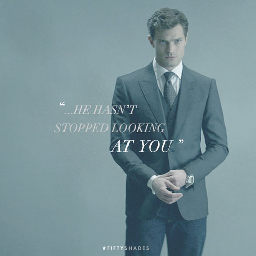 Fifty Shades of Grey wallpaper containing a business suit, a suit, and a three piece suit entitled Christian Grey