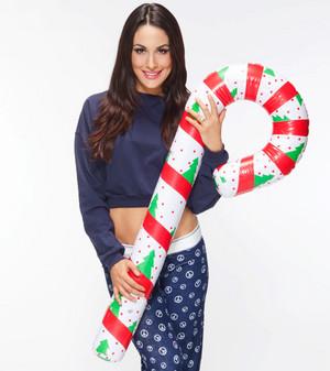 giáng sinh Divas 2014 - Brie Bella