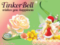 Christmas TinkerBell - disney-fairies wallpaper