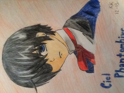 Anime Drawing Hintergrund called Ciel Phantomhive