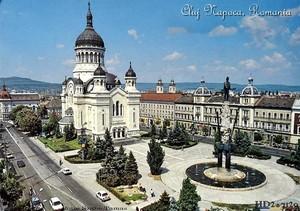 Cluj Napoca, Romania - Orthodox cathedral