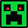 Creeper hexagone Force icone